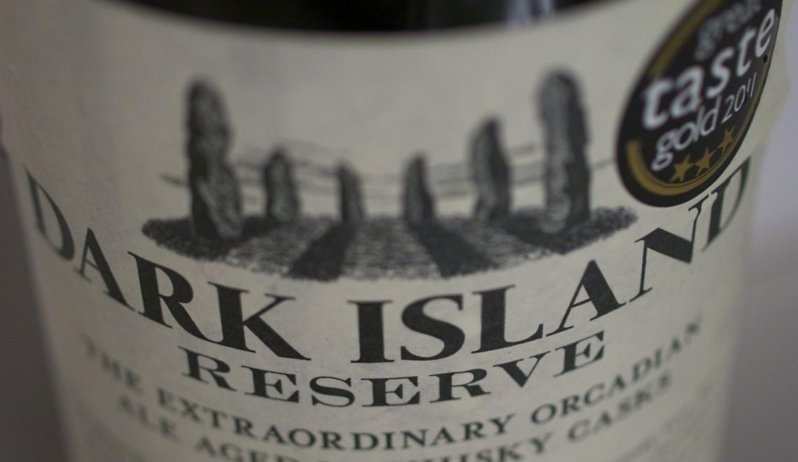 Whiskylagret øl: Dark Island Reserve (10 %)