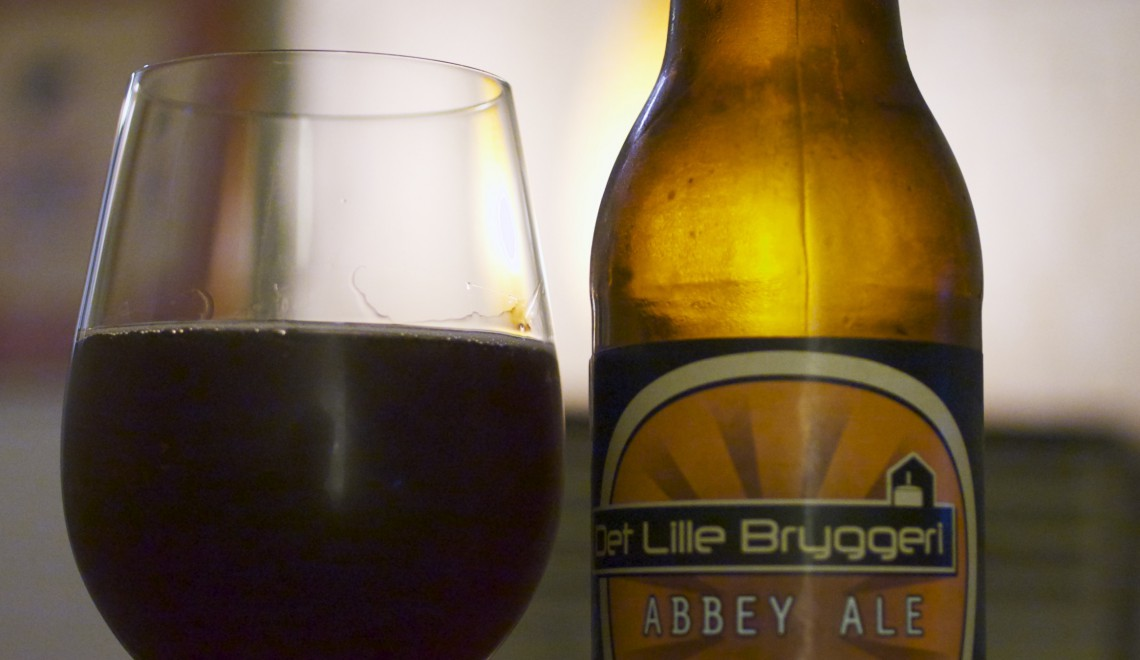 Whiskylagret øl: Det Lille Bryggeri Abbey Ale (10 %)